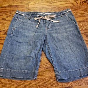 GAP lightweight denim shorts